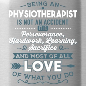 Love what you do - Physiotherapist - Water Bottle