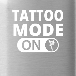 MODE ON TATTOO ink taetowiert - Trinkflasche