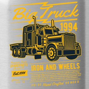 Big Truck Truck Trucker Rider Iron jul - Vattenflaska