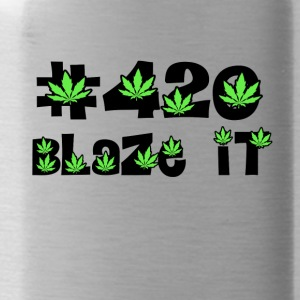 420 blaze it all day kiffen - Trinkflasche