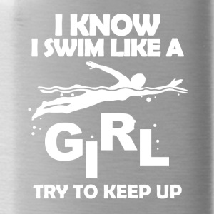 Swim like a girl - Water Bottle