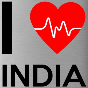 I Love India - I Love India - Drikkeflaske