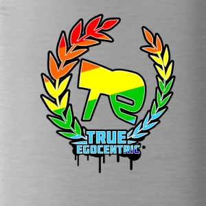 True Egocentric Logo Rainbow - Drinkfles