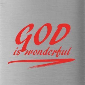 God_is_wonderful - Drinkfles