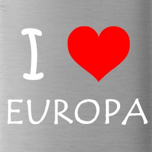 I love Europe - Water Bottle