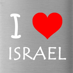 I Love Israel - Trinkflasche