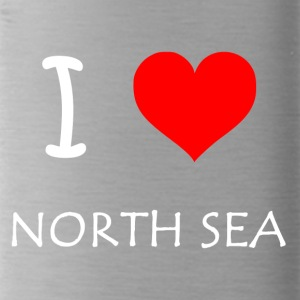 I Love North Sea - Trinkflasche