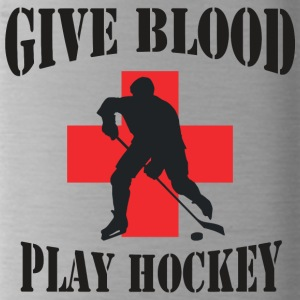 Hockey Giv Blood Play Hockey - Drikkeflaske