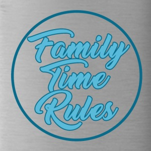 Family Time Rules - Family - Water Bottle