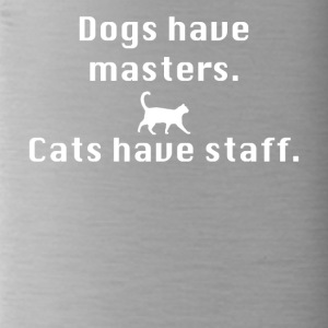 Cats have staff - Drinkfles