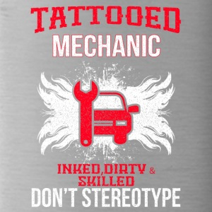 TATTOOED MECHANIC - Water Bottle