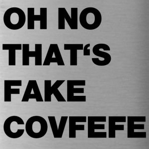 Fake covfefe - Water Bottle