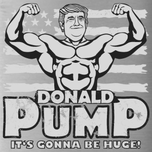 Donald Pump - it's gonna be huge! - Trinkflasche