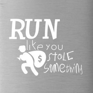 Run! I want to steal something for you - criminally - Water Bottle