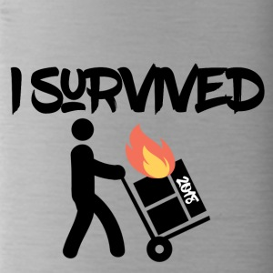 I survived 2018 - Trinkflasche