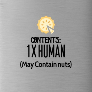 Contents for one human - Water Bottle