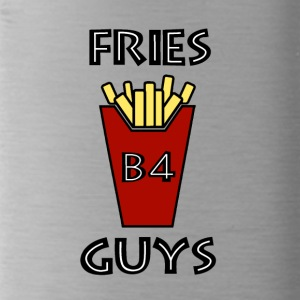Fries before guys - Water Bottle