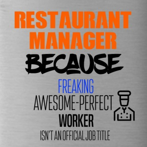 Resturant manager - Water Bottle