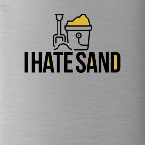 I hate sand - Water Bottle