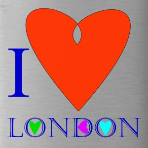 I Love London B - Water Bottle
