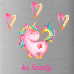 Be lovely - Unicorn Unicorn Unicorns Fabulous - Water Bottle