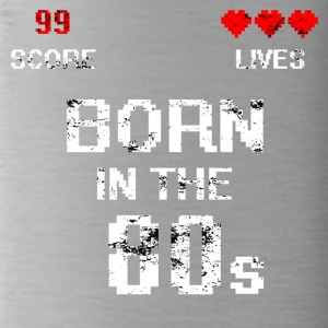 Born in the 80s - Trinkflasche