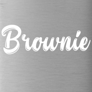Brownie ontwerp blond gift festival - Drinkfles