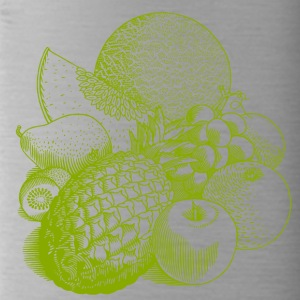 fruit illustratie - Drinkfles
