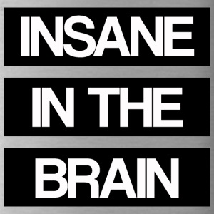 Insane in the Brain old school - Water Bottle