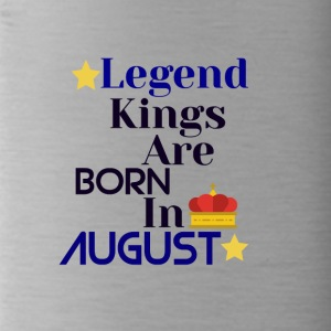Legend Kings are born in August - Water Bottle