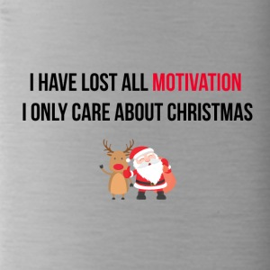 I have lost all motivation - Water Bottle