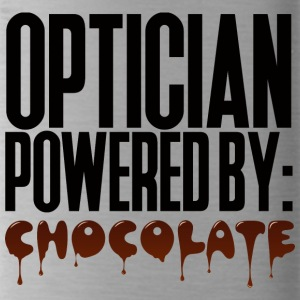 Optician: Optician powered by: Chocolate - Water Bottle