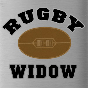 RUGBY WIFE WIDOW - Water Bottle