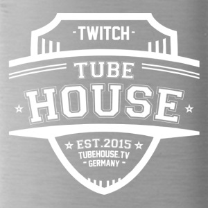 TubeHouse Team College Merch 2017 White - Water Bottle