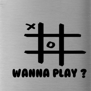 Wanna play - Trinkflasche