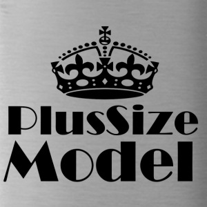 Plus Size Model - Trinkflasche