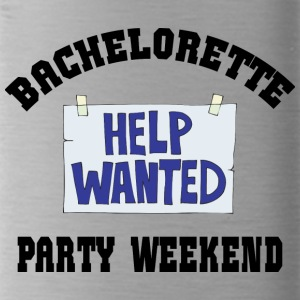 Bachelorette Party Help Wanted - Water Bottle