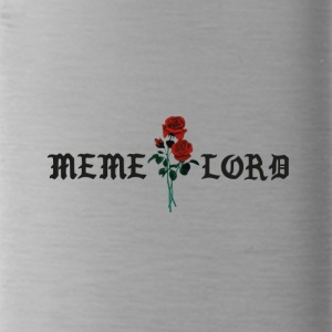 Meme lord rose - Trinkflasche