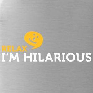 Relax Yourself. I'm Totally Funny! - Water Bottle