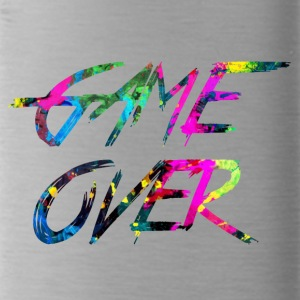 rainbow Game over - Water Bottle