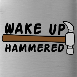 Roofing: Wake Up Hammered - Water Bottle