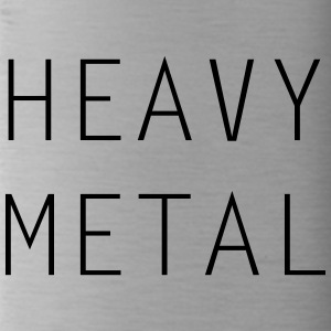 HEAVY METAL - Drinkfles