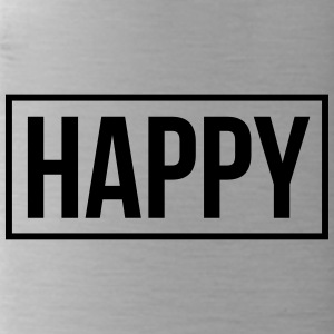happy - Trinkflasche