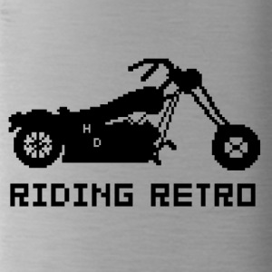 Riding Retro - Trinkflasche