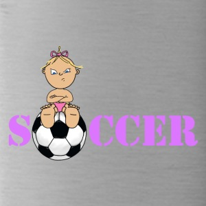Soccer girl 4 2 - Water Bottle