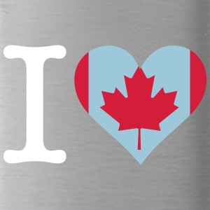 I Love Canada - Water Bottle