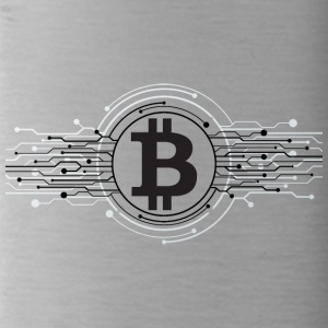 Bitcoin Logo - Borraccia