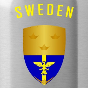 SWEDEN CROWNS SHIELD - Water Bottle