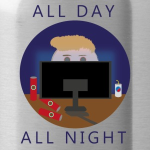 All Day - All Night | Gaming - Vattenflaska