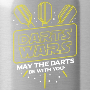 DARTS WARS - MAY THE DARTS BE WITH YOU - Water Bottle